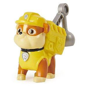 Figura Rubble c/ Som - Pack De Ação Patrulha Canina - Sunny