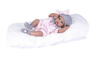 Boneca Bebê Reborn Menina Super Realista + Acess - Supertoys