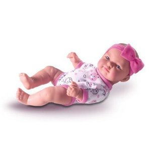 Boneca Bebê Petit Reborn - Inteira em Vinil - 23cm - Milk