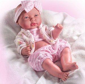 Boneca Premium Bebê Reborn Cheirinho De Amor em Vinil - Milk