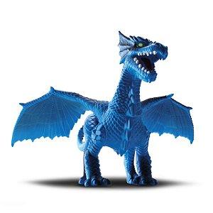 Dragão Dragon Island Dinossauro em Vinil Articulado - Silmar