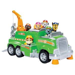 Caminhão Reciclagem - Veículo Rocky - Patrulha Canina -Sunny