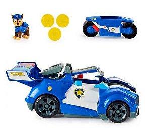 Carro Chase 2 Em 1 Trasforming City - Patrulha Canina -Sunny