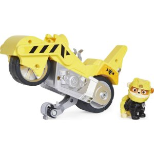 Veículo + Figura Rubble Moto Pups - Patrulha Canina - Sunny