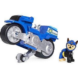 Veículo + Figura Chase Moto Pups - Patrulha Canina - Sunny