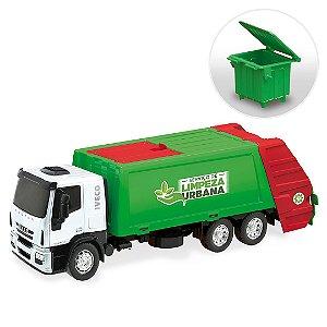 Caminhão Iveco Tector Coletor de Lixo Limpeza Urbana - Usual