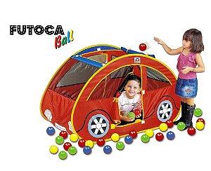 Toca Barraca Infantil Futoca Ball com 150 Bolinhas - Braskit
