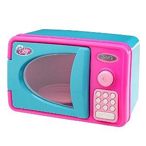 Microondas Infantil Com Luz E Som - Le Chef - Usual