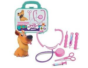Maleta Kit Veterinário Pet Care - Cachorro + Acess. - Samba