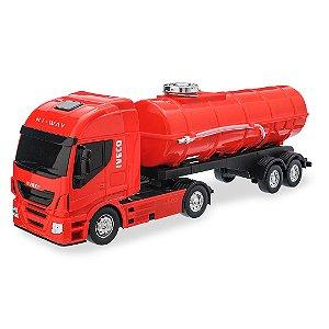 Caminhão Iveco Tanque Pipa - Réplica 560 - Usual Brinquedos