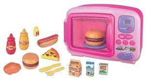 Microondas Infantil da Princesa - Som e Luz - Braskit