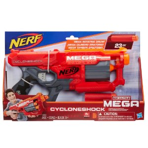 Lançador Nerf N-Strike Mega Cyclone Shock - A9353 - Hasbro