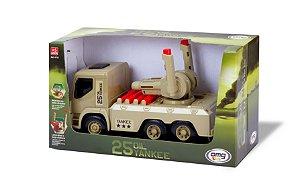 Caminhão Exército 25 Oil Yankee com Míssil - OMG KIDS