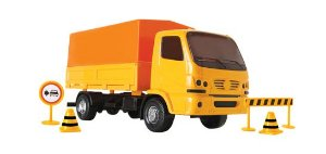Caminhão Urban Trânsito - Roma Brinquedos