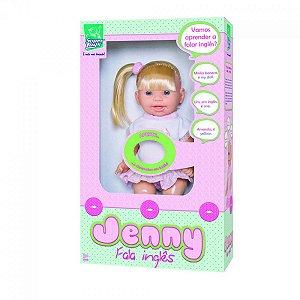 Boneca Jenny fala Inglês - Supertoys