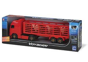 Caminhão Voyager Boiadeiro - Sortido - Roma Brinquedos