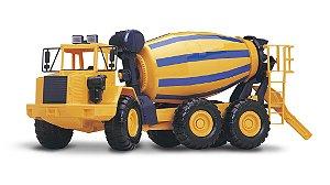 Caminhão Betoneira Columbus - 70,5cm - Roma Brinquedos