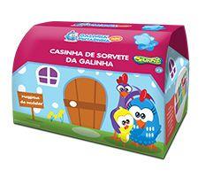 Massinha de Modelar Galinha Pintadinha - Casinha de Sorvete da Galinha - Sunny