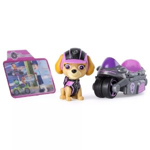 Patrulha Canina - Veículo e Figura - Missão Patinha - Skye Cycle - Sunny