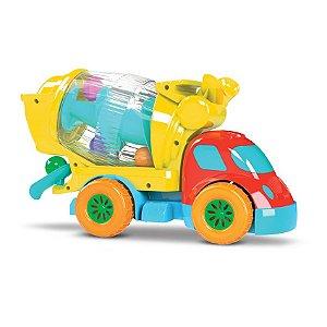 Caminhão Betoneira de Atividades - Diver for Baby - Divertoys