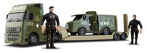 Caminhão + Blindado Militar Exército-  82cm - OMG Comandos - OMG KIDS