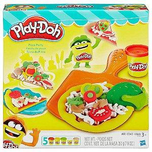 Massa Massinha de Modelar Play-Doh Festa da Pizza - B1856 - Hasbro