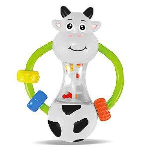 Chocalho Vaquinha para Bebê - Zoop Toys