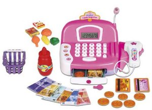 Caixa Registradora Infantil Princesas Com: Acessórios, Som e Luz - Zoop Toys