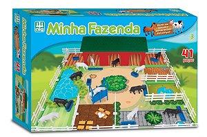 Minha Fazenda Fazendinha - 41 peças - NIG