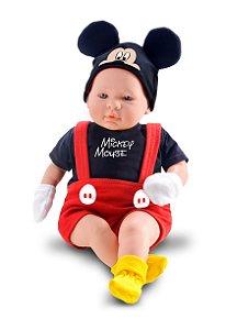 Boneco Mickey - Classic Dolls Recém Nascido - Roma Brinquedos