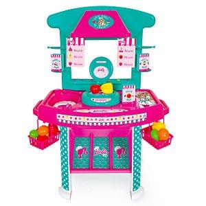 Mini Mercadinho Mercado - Barbie Chef - Cotiplás