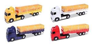 Caminhão Carreta Carga Seca Interstate - 40cm - Omg Kids