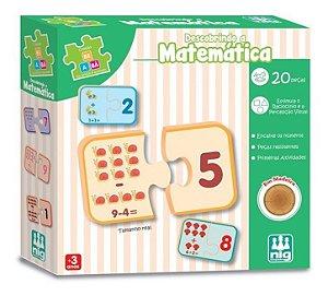 Descobrindo A Matemática Em Madeira 20pçs - Pedagógico - Nig