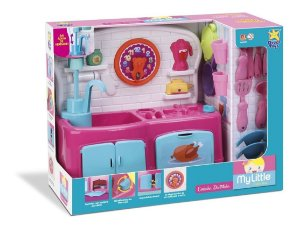 Cozinha Divertida Infantil My Little Collection - Divertoys