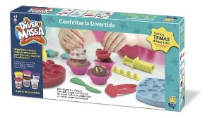 Massinha Diver Massa Confeitaria Cupcake - Divertoys