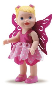 Boneca My Little Collection Fada - 32cm C/ Asas - Divertoys