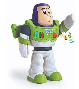 Boneco Buzz Lightyear Articulado Fala 5 Frases 22cm - Elka