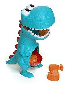 Boneco Dino Papa Tudo Dinossauro - Infantil Didático - Elka