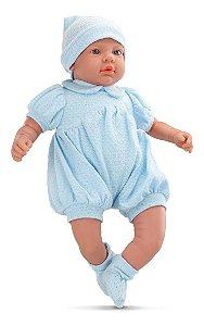 Boneca Bebe Real - Menino - C/ Certidão De Nascimento - Roma