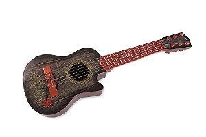 Violão Violãozinho Infantil Rock Guitar - 54cm - Zoop Toys
