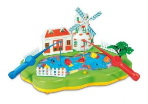 Jogo Clube De Pesca Pescaria Magnético C/ Som - Zoop Toys
