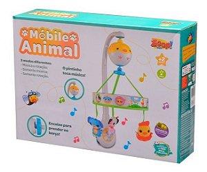 Móbile Eletrônico Musical Animal - Toca 3 Músicas - Zoop