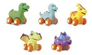 Coleção 5 Dinossauro Diver For Baby Para Bebês - Divertoys
