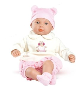 Boneca Bebê Real Choro Mágico - C/ Acessórios - 43cm - Roma
