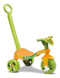 Velotrol Triciclo Tchuco Dinossauro C/ Haste - Samba Toys