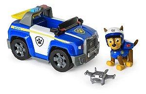 Patrulha Canina - Figura Com Veículo  Chase's - Sunny