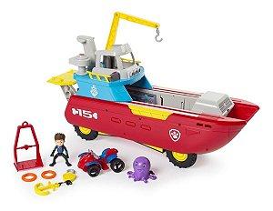 Barco Patrulha Canina 2 Em 1 - Patrulheiro Do Mar - Sunny