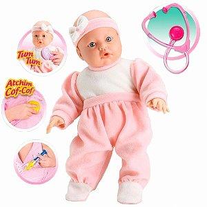 Boneca Bebê Jensen Check-me - Roma Brinquedos