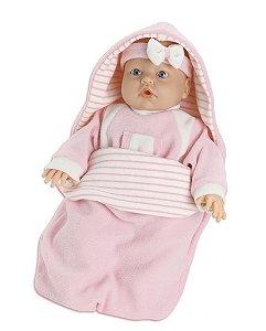 Boneca Bebê Jensen Dorme Bebê - Roma Brinquedos