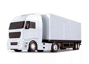 Caminhão Carreta Diamond Truck Baú - Roma Brinquedo